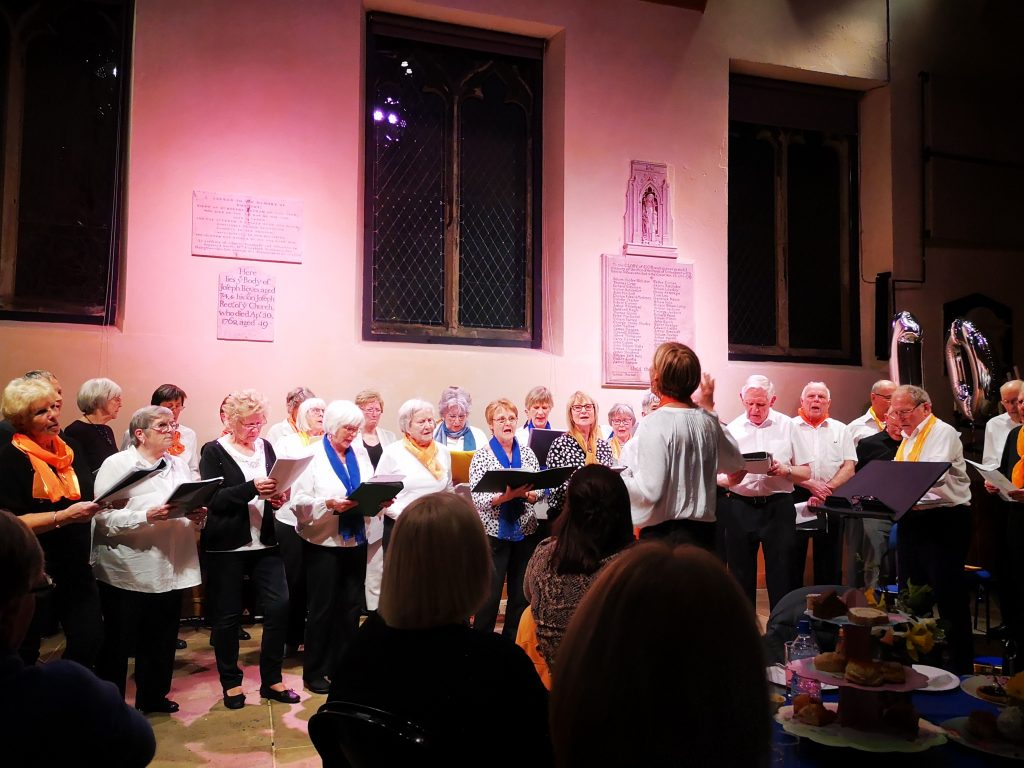 musical connections york 10th anniversary event community choir