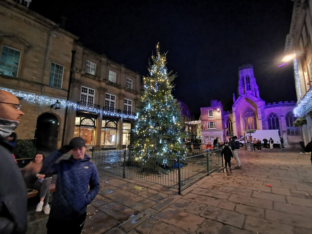 St Helen's Square Christmas Tree York