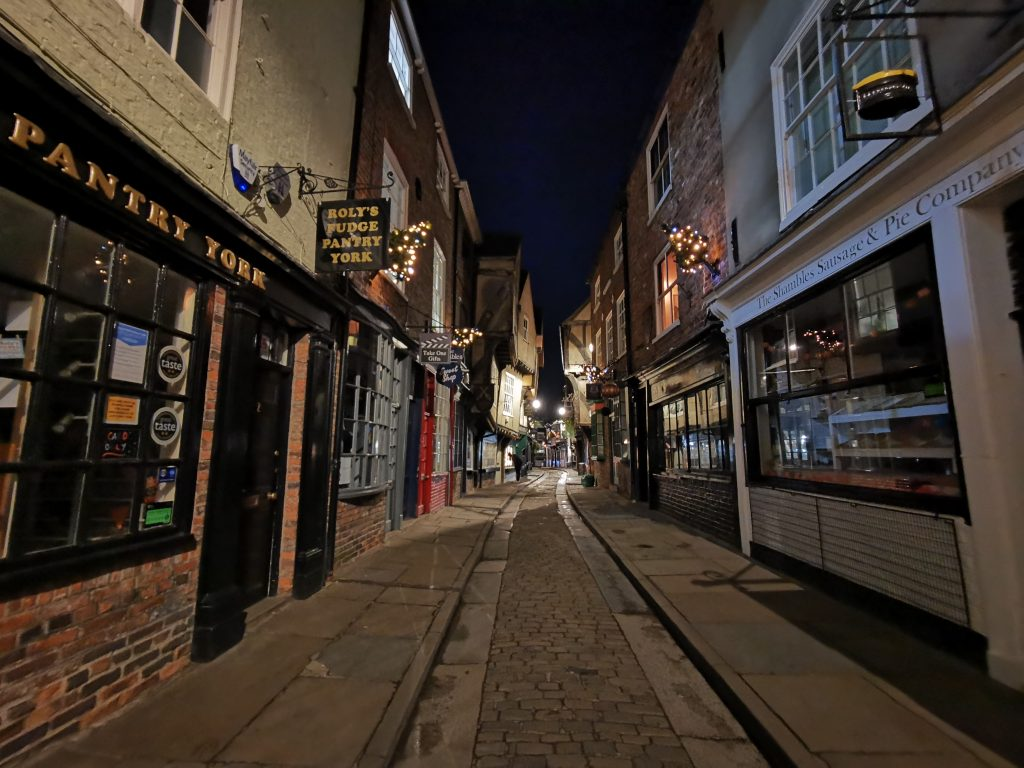 Shambles York Christmas Lights
